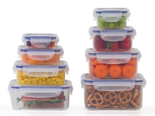 Little Big Box By Popit 8 Plastic Container Set Food Saver Set