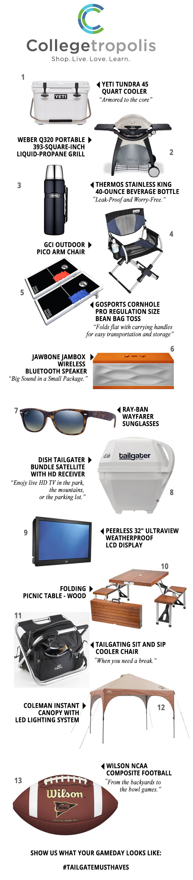 Tailgating Must-Haves for Game Day